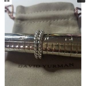 Jewelry - Pair of David Yurman Cable Classic Rings